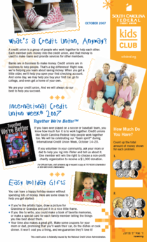Kids newsletter cv