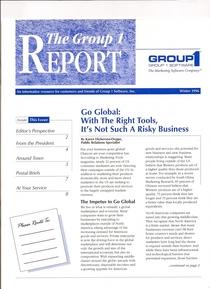 Portfolio group 1 newsletter cv