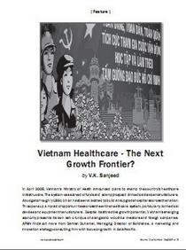 Vietnam healthcare industry cv