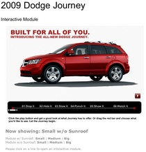 Dodge journey begins cv