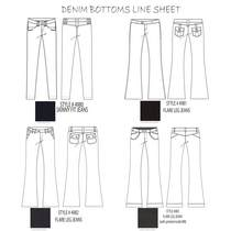 Denim bottoms line sheet for sp09 2.ai cv