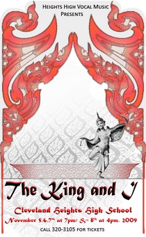 King and i poster inked version cv
