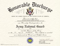 Army discharge cv