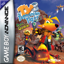 Ty the tasmanian tiger 3   night of the quinkan cv