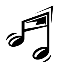 A funny music note 000 cv