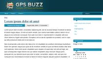 Gsp buzz cv