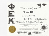 Phi epsilon kappa fraternity certification cv