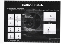 Softball catch rubric cv