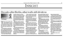 Centretown berlin wall column cv