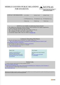 Interactive news release cv