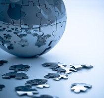 Globe puzzle cv