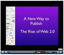 Rise of web 2.0 cv