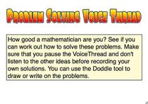 Problem solving cv