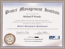 Pmp certificate 2009 public cv