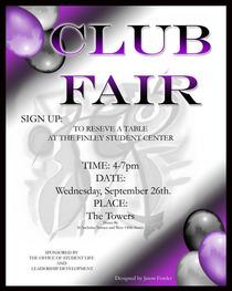 Club fair cv