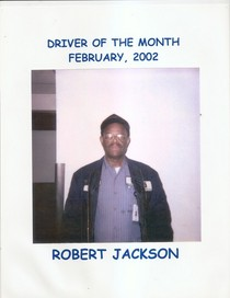 Driver of the month 2000 robert jackson  cv