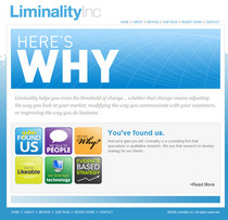 Webclipping liminality cv