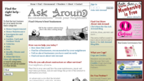 Ask around   home cv