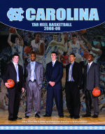 Basketball media guide cover cv