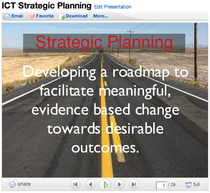 Ict strategic planning presentation cv