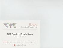 Target award cv