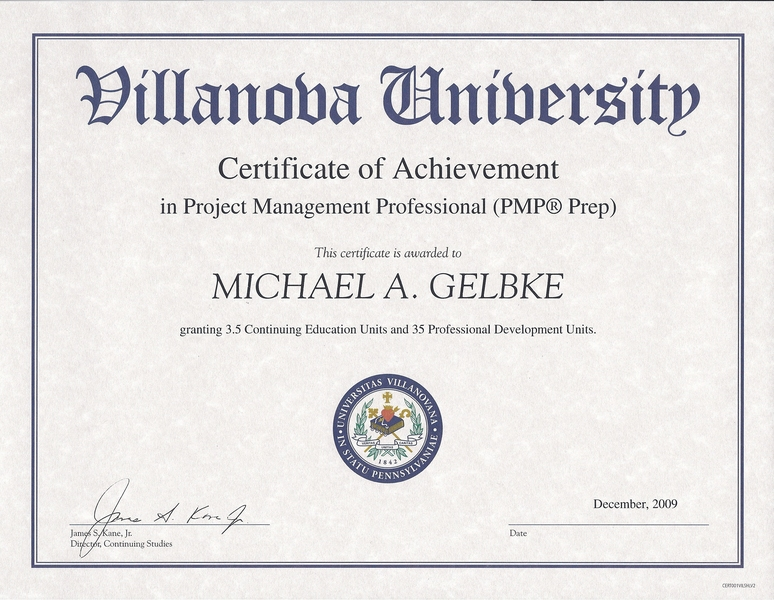 Michael A Gelbke Engineering Quality Technical