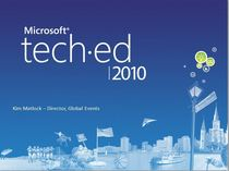 Teched 2010 cv