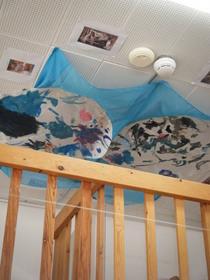 Sistine chapel area classroom cv