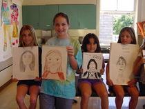 Portrait class girls cv