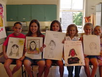 Portrait class more girls cv