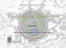 Grainy certificate cv
