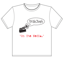 On the media t shirt 1 cv