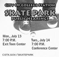 Skate park mtgs cv