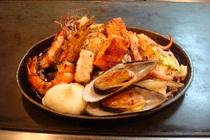 Filipino seafood bowl cv