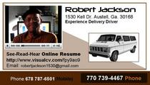 Robert jackson   resume business card 1 cv