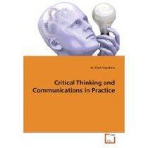 Critical thinking cv