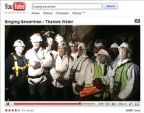 Singing sewermen cv