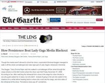 Gazette   lady gaga cv