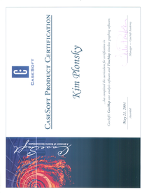 Casemap certification cv