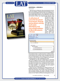 Review docxtools legal assistant today page 1 cv