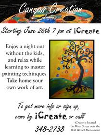 Canvas creations ad copy cv