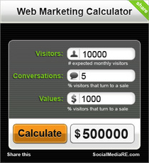 Web marketing calc cv