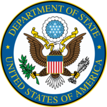 State department logo cv