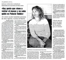 Entrevista a noelia s%c3%a1nchez responsable casa museo armando palacio vald%c3%a9s  cv