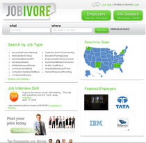 Screenshot jobivore cv