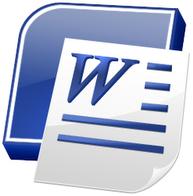 Microsoft word logo 1 cv