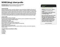 Word blog page 1 cv