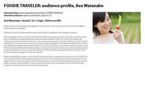 Foodie traveler page 2 cv