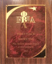 Fbla pbl marketing 2005 award cv