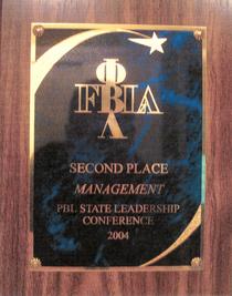 Fbla pbl management 2004 award cv